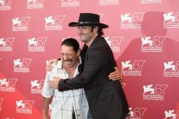 photo 50/79 - Robert Rodriguez et Danny Trejo - Pr�sentation du film Machete - Mercredi 1er Septembre 2010 - Machete - © Isabelle Vautier pour Commeaucinema.com