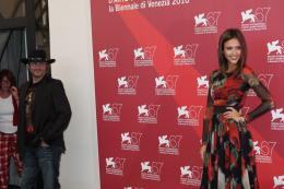 photo 57/79 - Robert Rodriguez et Jesssica Alba - Pr�sentation du film Machete - Mercredi 1er Septembre 2010 - Machete - © Isabelle Vautier pour Commeaucinema.com