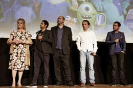 photo 60/185 - Catherine Deneuve, Jamel Debbouze, Xavier Fagnon, Eric Metayer et Malik Bentalha - Avant-Première à la Sorbonne - Monstres Academy - © Walt Disney Studios Motion Picture