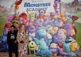 photo 78/185 - Jamel Debbouze et Catherine Deneuve - Avant-Première à la Sorbonne - Monstres Academy - © Walt Disney Studios Motion Picture