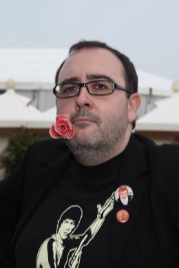 photo 50/51 - Carlos Areces - Présentation du film Balade Triste de Trompeta - Mostra de Venise 2010 - Balada triste - © Isabelle Vautier pour Commeaucinema.com