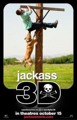 photo 24/71 - Affiche du film - Jackass 3D - © Paramount