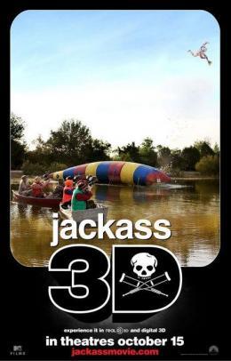 photo 25/71 - Affiche du film - Jackass 3D - © Paramount