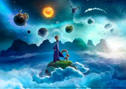 photo 4/13 - Le Petit Prince - la Planète du temps - © SPHE
