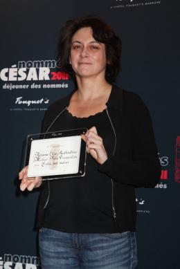 Mariana Otero Déjeuner des nommés aux César 2011 photo 2 sur 2