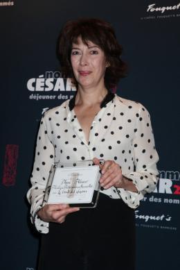Anne Alvaro Déjeuner des nommés aux César 2011 photo 8 sur 10