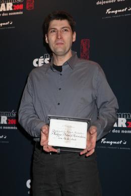 Alain Gagnol Déjeuner des nommés aux César 2011 photo 1 sur 1
