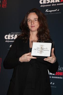 Julie Bertuccelli Déjeuner des nommés aux César 2011 photo 1 sur 6