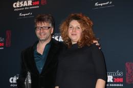 Baya Kasmi Déjeuner des nommés aux César 2011 photo 7 sur 7
