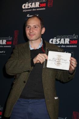 Grégoire Hetzel Déjeuner des nommés aux César 2011 photo 1 sur 1