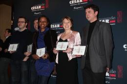 Dyana Gaye Déjeuner des nommés aux César 2011 photo 1 sur 1
