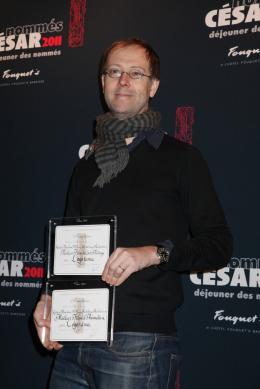 Ludovic Houplain Déjeuner des nommés aux César 2011 photo 2 sur 2