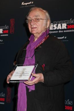Jean Cosmos D�jeuner des nomm�s aux C�sar 2011 photo 1 sur 1