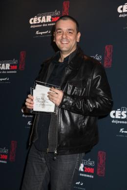 Joann Sfar Déjeuner des nommés aux César 2011 photo 8 sur 8