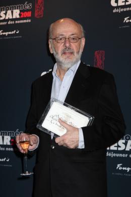 Bertrand Blier Déjeuner des nommés aux César 2011 photo 2 sur 12