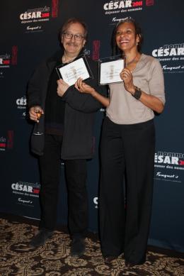 Maryline Monthieux Déjeuner des nommés aux César 2011 photo 1 sur 1