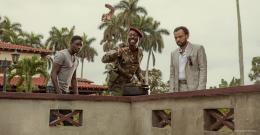 photo 17/27 - Thomas N'Gijol, Fabrice Eboué, Ibrahim Koma - Le Crocodile du Botswanga - © Mars Distribution