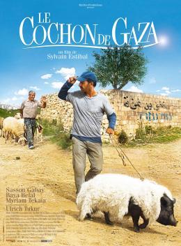 photo 12/12 - affiche française - Le Cochon de Gaza - © Studio Canal