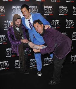 photo 51/71 - Bam Margera, Johnny Knoxville et Jeff Tremaine - Avant-première parisienne de Jackass 3D - 27 Octobre 2010 - Jackass 3D - © Paramount