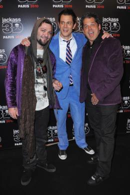 photo 49/71 - Bam Margera, Johnny Knoxville et Jeff Tremaine - Avant-première parisienne de Jackass 3D - 27 Octobre 2010 - Jackass 3D - © Paramount