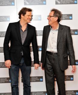 photo 44/45 - Colin Firth et Geoffrey Rush - Présentation du film The King's Speech au London Film Festival 2010 - Le Discours d'un roi - © Samir Hussein - Getty Images 2010