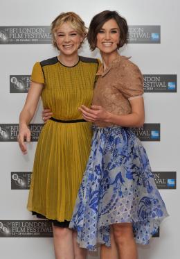 photo 25/46 - Carey Mulligan et Keira Knightley - Never Let Me Go - © Samir Hussein - Présentation du film Never Let Me Go au Lond