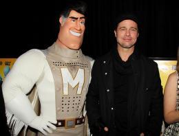 photo 54/71 - Brad Pitt - Avant-première New-yorkaise de Megamind - 3 Novembre 2010 - MegaMind - © 2010 WireImage