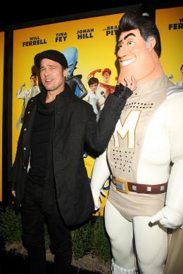photo 63/71 - Brad Pitt - Avant-première New-yorkaise de Megamind - 3 Novembre 2010 - MegaMind - © 2010 WireImage