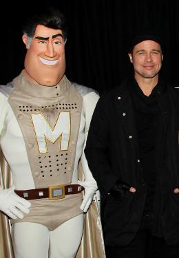 photo 62/71 - Brad Pitt - Avant-première New-yorkaise de Megamind - 3 Novembre 2010 - MegaMind - © 2010 WireImage