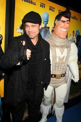 photo 55/71 - Brad Pitt - Avant-première New-yorkaise de Megamind - 3 Novembre 2010 - MegaMind - © 2010 WireImage