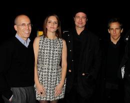 photo 71/71 - Jeffrey Katzenberg, Tina Fey, Brad Pitt et Ben Stiller - Avant-première New-yorkaise de Megamind - 3 Novembre 2010 - MegaMind - © 2010 WireImage