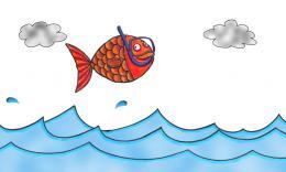 photo 2/6 - Le poisson rouge qui voulait voir la mer - Boutchoux - © Les films magiques