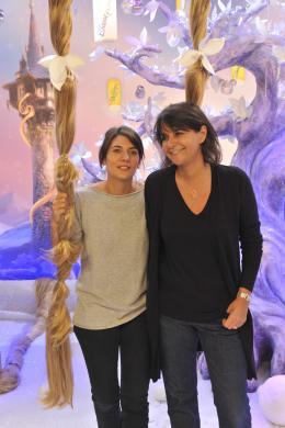 photo 76/111 - Estelle Denis et Valérie Expert - Avant-première Raiponce - 6 Novembre 2010 - Raiponce - © Walt Disney Studios Motion Pictures France