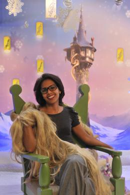 photo 84/111 - Audrey Pulvar - Avant-première Raiponce - 6 Novembre 2010 - Raiponce - © Walt Disney Studios Motion Pictures France