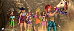 photo 2/4 - Bloom, Flora, Musa, Tecna, Stella, Layla - Winx Club, l'aventure magique 3D - © Rezo Films