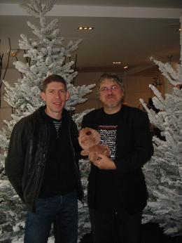 Jacques-Rémy Girerd Avec Benoit Chieux, et le Migou ! photo 1 sur 2