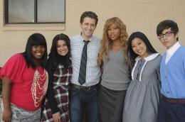 photo 61/64 - Lea Michele, Amber Riley, Matthew Morrison, Lena Ushkowitz, Kevin McHale - Glee - Int�grale de la saison 1 - © Fox Path� Europa
