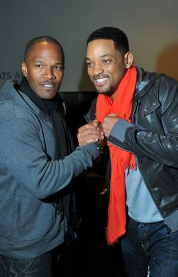 photo 13/67 - Jamie Foxx et Will Smith - Justin Bieber : Never Say Never - © Paramount