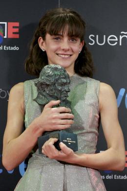 Marina Comas C�r�monie des Prix Goya 2011 Du Cin�ma Espagnol photo 3 sur 3