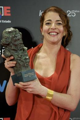 Nora Navas C�r�monie des Prix Goya 2011 Du Cin�ma Espagnol photo 1 sur 1