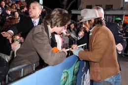 photo 27/42 - Johnny Depp - Avant-première du film Rango à Los Angeles - Février 2011 - Rango - © Paramount