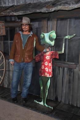 photo 22/42 - Johnny Depp - Avant-première du film Rango à Los Angeles - Février 2011 - Rango - © Paramount