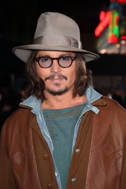 photo 25/42 - Johnny Depp - Avant-première du film Rango à Los Angeles - Février 2011 - Rango - © Paramount