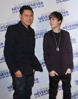 photo 43/67 - John Chu et Justin Bieber - Avant-première parisienne du film Never Say Never - Justin Bieber : Never Say Never - © Paramount