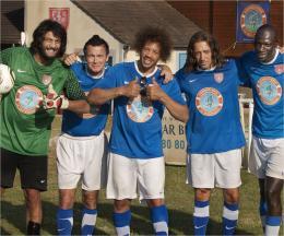 Les Seigneurs Ramzy Bedia, Franck Dubosc, Joey Starr, Gad Elmaleh, Omar Sy photo 5 sur 32