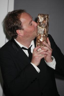 photo 39/39 - Xavier Beauvois, C�sar du meilleur film - 36e C�r�monie Des C�sar 2011 - 25 F�vrier 2011 - Des Hommes et des Dieux - © Isabelle Vautier pour CommeAuCinema.com