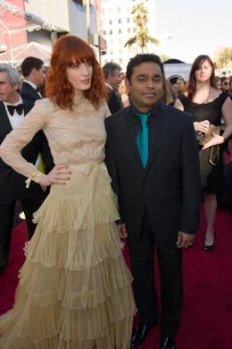 A.R. Rahman 83�me C�r�monie des Oscars 2011 photo 1 sur 7
