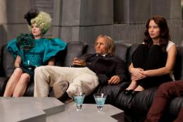 Hunger Games Woody Harrelson, Elizabeth Banks, Jennifer Lawrence photo 9 sur 85
