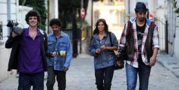 photo 2/11 - F�lix Moati , Eric Elmosnino , Maiwenn , Samir Guesmi - T�l� gaucho - © UGC