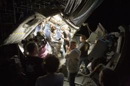 photo 21/65 - Sandra Bullock et Alfonso Cuaron - Gravity - © Warner Bros